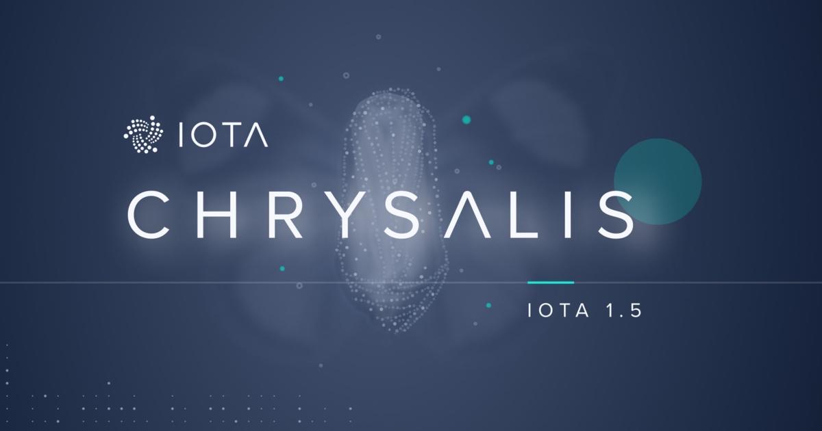 IOTA 1.5 Chrysalis Upgrade Transactions Blockchain.News.jpg