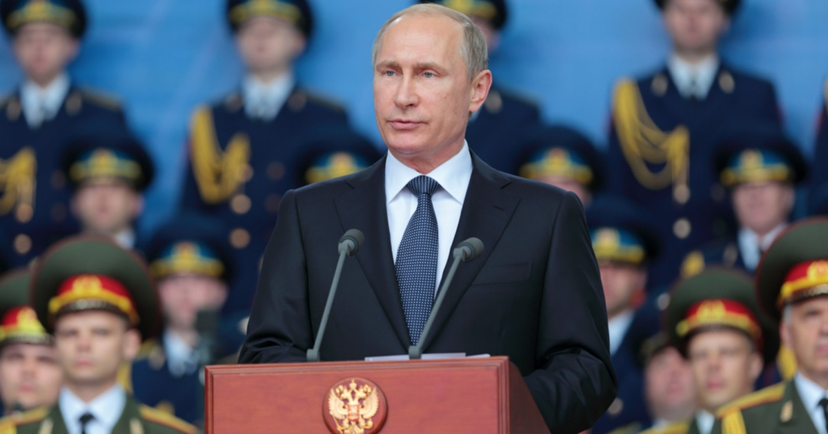 Vladimir Putin Russia President Blockchain Voting Blockchain.News.jpg