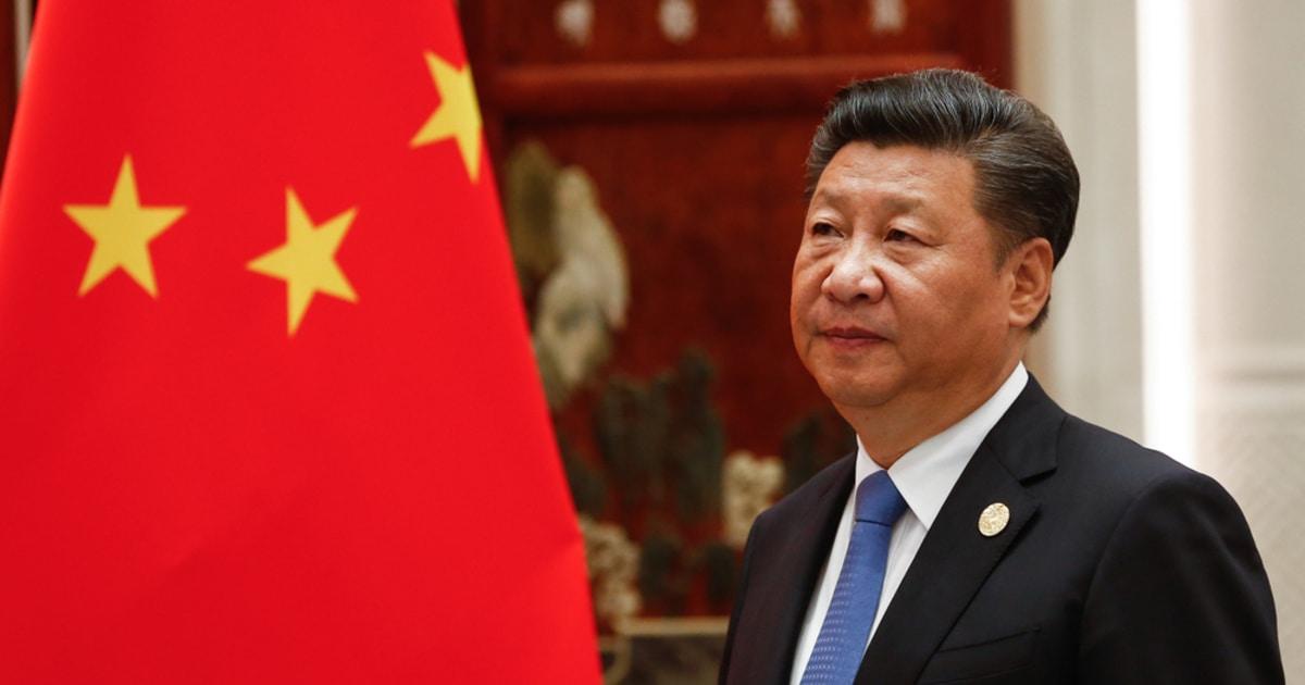 Chinese President Xi Jinping blockchain epidemic.jpg