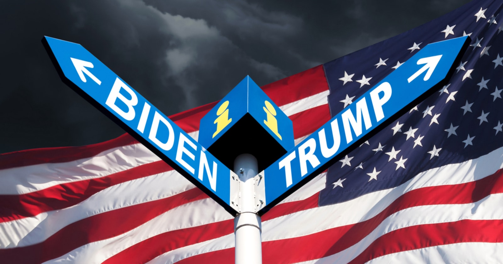 Trump vs. Biden Blockchain Voting