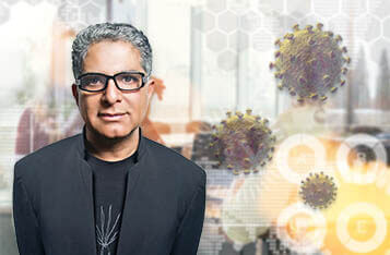 Deepak Chopra Partners with Hedera Hashgraph to Leverage Blockchain for COVID-19 Mental Health Support