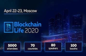 Blockchain Life 2020 welcomes 5000 participants and leading companies of the industry on April 22-23 in Moscow