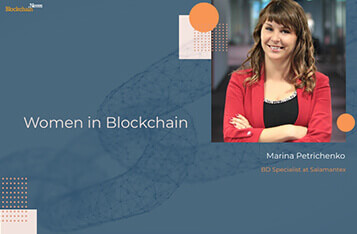 Women in Blockchain: Marina Petrichenko of Salamentex