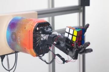 OpenAI's Robotic Hand Can Now Solve a Rubik's Cube One-Handed