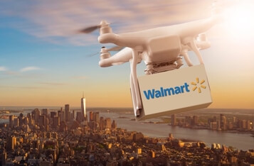 Walmart Files Patent Application for Blockchain-Based Drone Communications