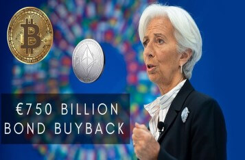 Christine Lagarde Announced EUR 750 Billion Bond Buyback, Bitcoin Surged 10%