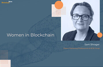 Women in Blockchain: Sam Shrager of BCB Group