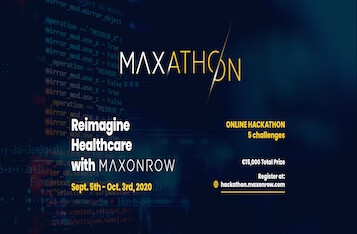 MAXathon: An online hackathon to tackle global pandemic related challenges with blockchain technology!