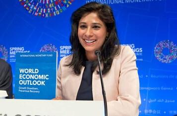IMF Chief Economist Says Crypto Won't Threaten Dollar Dominance Although Global Reserves Decline